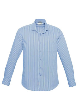 Zurich Shirt Ice Blue-White