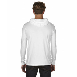 987 Lightweight Long Sleeve Hooded Tee Back