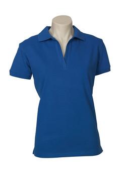 p9025 Ladies Oceana Polo French blue