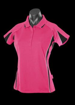 2304 Hot Pink & Black