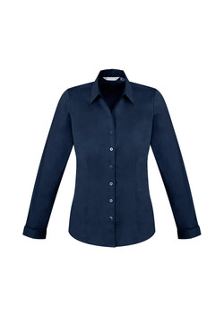 Biz S770LL Ladies LS Monaco Shirt Ink