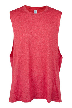 Ramo T403MS Mens Greatness Tank Red Heather