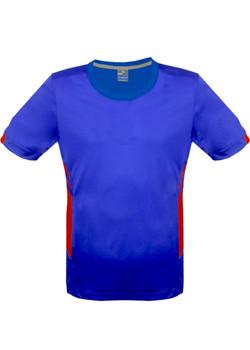 AP 1211 Mens Tasman Tshirt Royal-Red