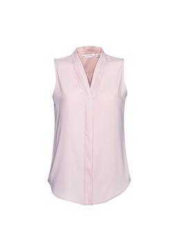 S627LN Madison Sleeveless Blouse Blush Pink