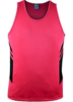 AP 1111 Mens Tasman Singlet Fluro Pink-Black.jpg