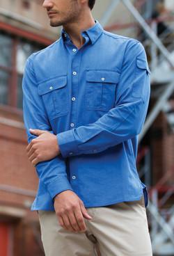 Mens 5271L LS Oxford Shirt Blue A