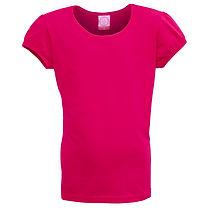 GPST86 Girls Puff Sleeve T-shirt - Similar to the SunPrints Girls standard tee with cute puff sleeves
