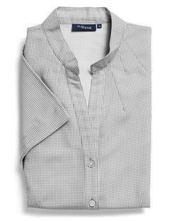 Ladies 1582WS 100% Printed Polyester Shirt Black