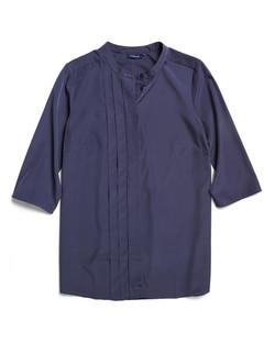 Ladies 1719WL Polyester Georgette Shirt Navy