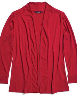Ladies 1615WL Cool Breeze Cardigan Red