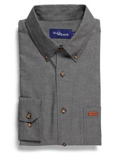 Mens 5095L LS Iconic Chambray Industrial Shirt Black