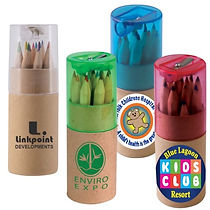 Check out our selection of promotional Colouring Pencils. Decorate with Logo, Brand and point of contact.