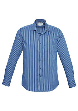 Zurich Shirt French Blue-White