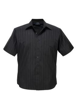 SH271 Short Sleeve Black-White