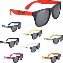 Check out our selection of promotional Sunglasses. Decorate with Logo, Brand or point of contact.