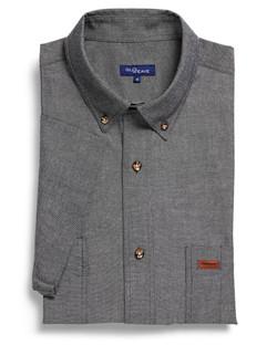 Mens 5045SN SS Iconic Chambray Industrial Shirt Black