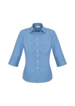 Biz S716LT Ladies Ellison Shirts French Blue