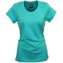 LT86 Ladies T-Shirt - SunPrints Classic Ladies Crew Neck Tee Perfect for Screen Printing