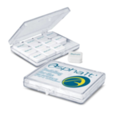 Clear plastic case with a hinged lid which contains 12 delicious square mints that are digitally printed in full colour with an edible food grade ink. The price includes one artwork design per order on the mints and the case can be branded in stunning full colour for maximum impact. Ingredient information is included on the bottom of the case and it is shrink wrapped to seal in freshness.