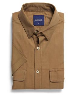 Mens 5271S SS Oxford Shirt Sand