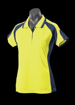 2300 Hi Viz Yellow-Navy
