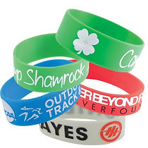 Check out our selection of promotional Wristbands. Decorate with your Logo, Brand or point of contact.