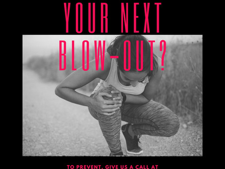 Don't wait for your next blow-out!
