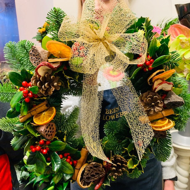 wreath making & festive high tea 241120
