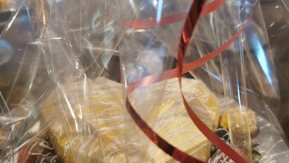 edible smash heart piñata