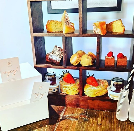 AFTERNOON TEA GIFT BOX FOR 1