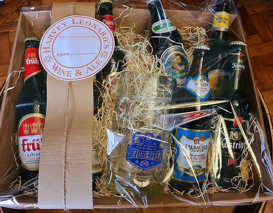 German Beer Hamper with 1ltr Stein