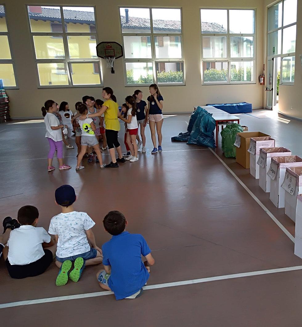 Aktivitäten mit den Jungs von Bildungscamp