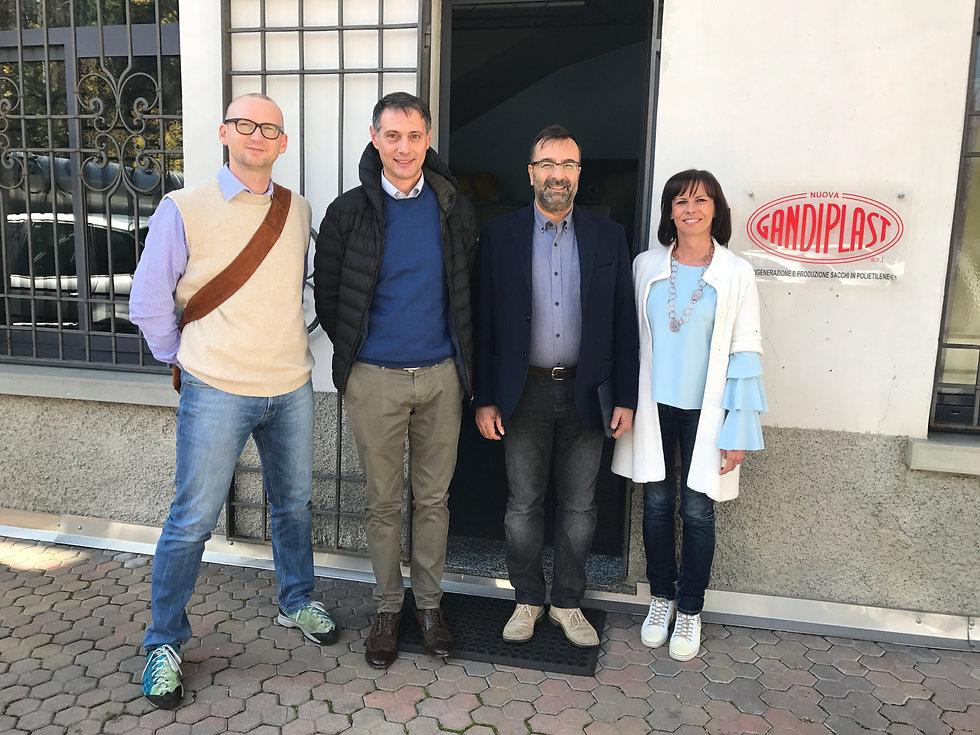 Visite au Prof. Frassine et DR.SSA Monica Meloncelli