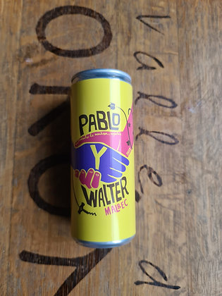 Pablo Y Walter 25cl can 2018