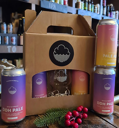 Cloudwater Beer & Glass Set