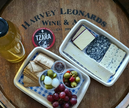 Lager & Cheese Plate