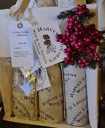 3 Wine Christmas Selection