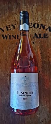 Le Sentier Dans Les Vignes Rosé, Côtes de Gascogne 2019