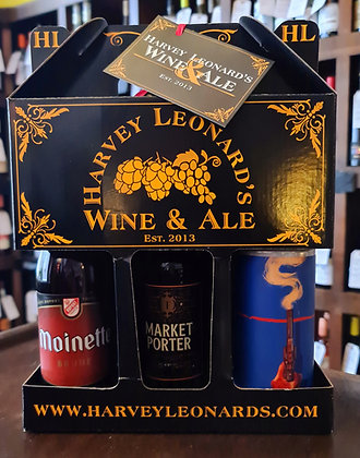Dark Beer 3 Bottle Gift Set