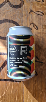 Runaway / Steep Soda Mango & Pineapple Shandy Panache