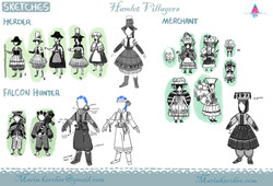 Hamlet Villagers Exploration