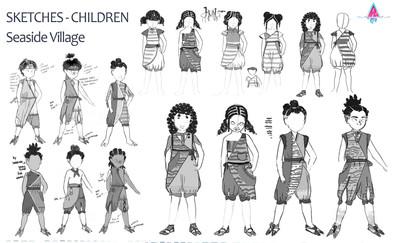 Seaside Villahe Children