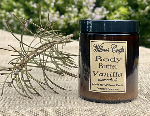 Body Butter  with Vanilla Essential Oil