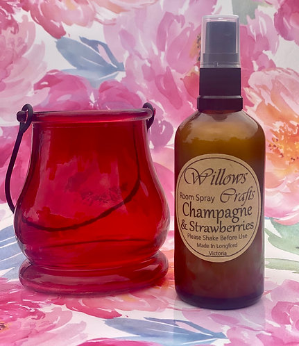 Champagne & Strawberries Room Spray