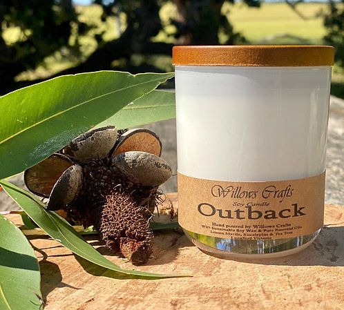 Outback Essential Oil Tumbler Jar