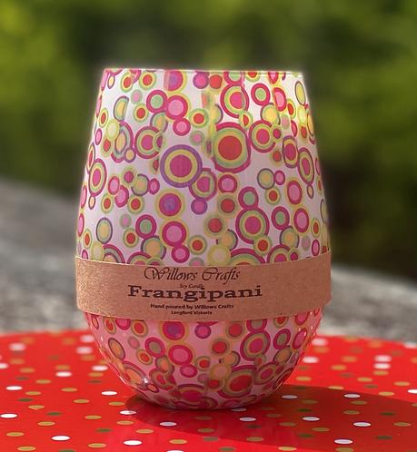 Frangipani Circles Jar