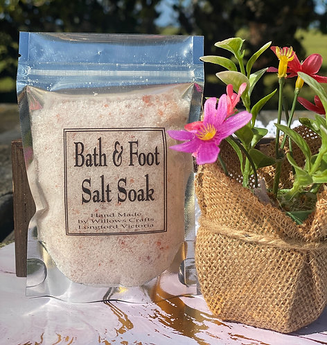 Bath & Foot Soak Bag