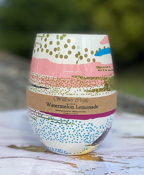 Watermelon Lemonade Retro Jar
