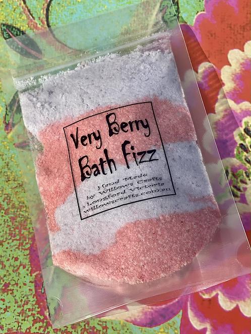 Very Berry Bath Fizz
