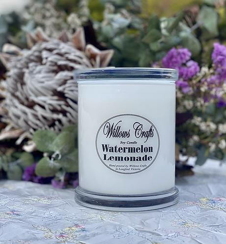 Large Watermelon Lemonade Plain Jar